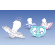 Sucette Silicone  Natural Flex Orthodontique +6 mois Nuby