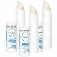 Lot de 3 Sticks Lèvres Atoderm 4g Bioderma