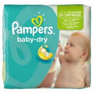 Pampers Baby Dry 4+ (9-20kg) Maxi Plus 24 couches