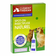 Clément Thékan Insectifuge naturel Chiots et Chatons 4x1.5ml