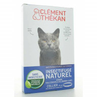 Clément Thékan Insectifuge naturel Chat collier 34cm
