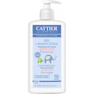 Cattier Gel lavant doux 500ml