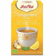 Yogi Tea Gingembre Citron 17 sachets