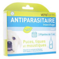 Vetoform Pipettes antiparasitaires chiot 3x1ml