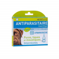 Vetoform Pipettes antiparasitaires grand chien (+30kg) 6x2ml