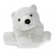SOFRAMAR Bouillotte peluche Ours polaire