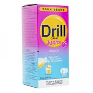 DRILL CALM Junior sirop toux sèche goût fraise 200ml