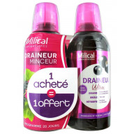 MILICAL Draineur Cassis 2x500ml