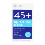Milical 45+ Rétention d'Eau 28 Comprimés