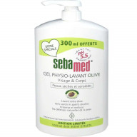 Sebamed Gel Physio-Lavant Olive 1L dont 300ml Offerts.jpg