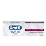 Oral B Dentifrice 3D WHITE LUXE Blancheur & Glamour 75ml.jpg