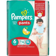 Pampers Baby-Dry 19 Couches-Culottes Taille 6 (+16kg).jpg