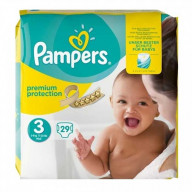 Pampers Premium Protection 24 Couches Taille 3 (5