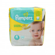 Pampers Premium Protection 24 Couches Taille 4 (8