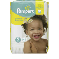 Pampers Premium Protection 24 Couches Taille 5 (8