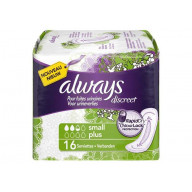 Always Discreet Small Plus 16 Serviettes.jpg