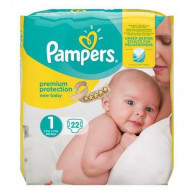 Pampers Premium Protection 24 Couches Taille 1 (2