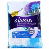 Always Discreet Long Plus 16 Serviettes.jpg