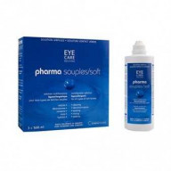 Eye Care Pharma Souples Pack Solutions Multifonctions 3 x 360ml