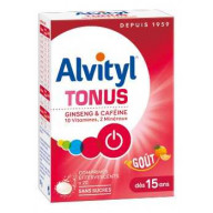 Alvityl Tonus 20 Comprimés Effervescents Goût Orange Urgo