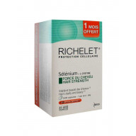 Richelet Force du CheveuxLot de 3 x 30 capsules
