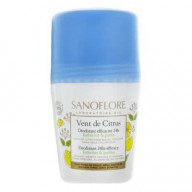 Sanoflore Vent de Citrus Déodorant Efficacité 24H Roll on 50 ml