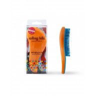 Rolling hills detangling brush orange