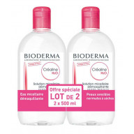 Bioderma Créaline H2O (non-scented ) offer of 2 x 500ml