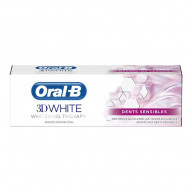 Dentifrice 3D White Therapy Dents Sensibles 75ml Oral B