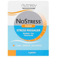Stress Passager Flash 6 gélules Nutreov NoStress