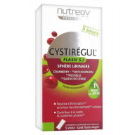 Cystirégul Flash 5 jours 5 sticks goût fruits rouges Nutreov