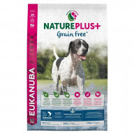 Nature Plus+ Grain Free Croquettes au Saumon chien adulte 2.3 kg Eukanuba