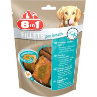 Filets de poulet pour chien S 80 g 8in1 Fillets Pro Breath