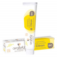 Dentifrice Bio Citron 75ml Argiletz