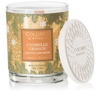 Bougie Cannelle Orange 180g Collines de Provence