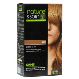 Coloration Blond Clair 8N...