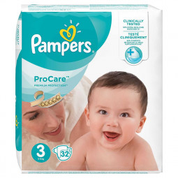 Pampers ProCare 32 Couches...