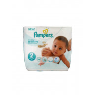 Pampers New Baby Sensitive 28 Couches Taille 2 (3-6 kg)