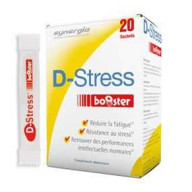 D  Stress Booster 20 sachets Synergia  parapharmacie