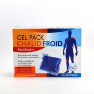 Gel Pack Chaud Froid Réutilisable He.Co Pack He.Co Stop