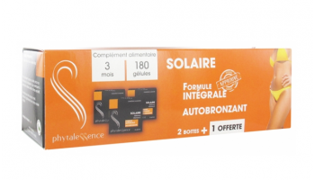 Trio solaire Phytalessence
